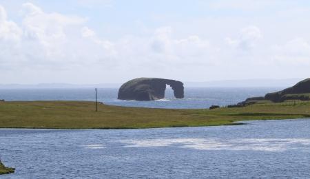 Dore Holm St Magnus Bay